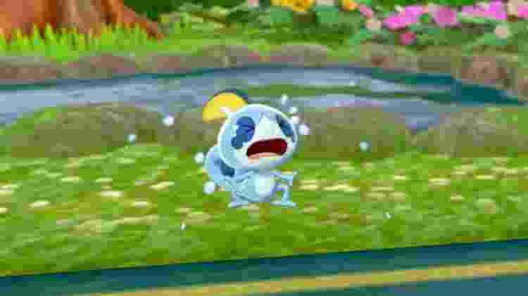 Não chora, pokémon! - Reprodução
