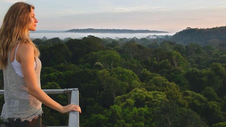 Gisele Bündchen atuará como embaixadora da empresa ligada ao setor ambiental - Reprodução/Instagram