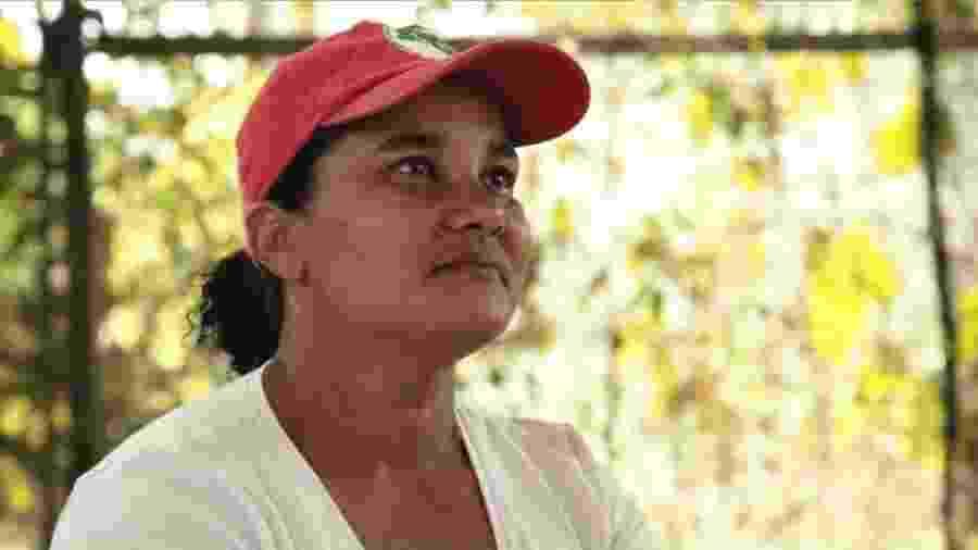 A agricultora Vânia Maria de Oliveira - Arquivo Pessoal