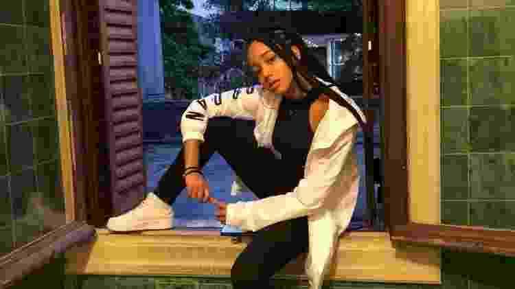 Vicky Wakanda Streamers - Arquivo pessoal - Arquivo pessoal