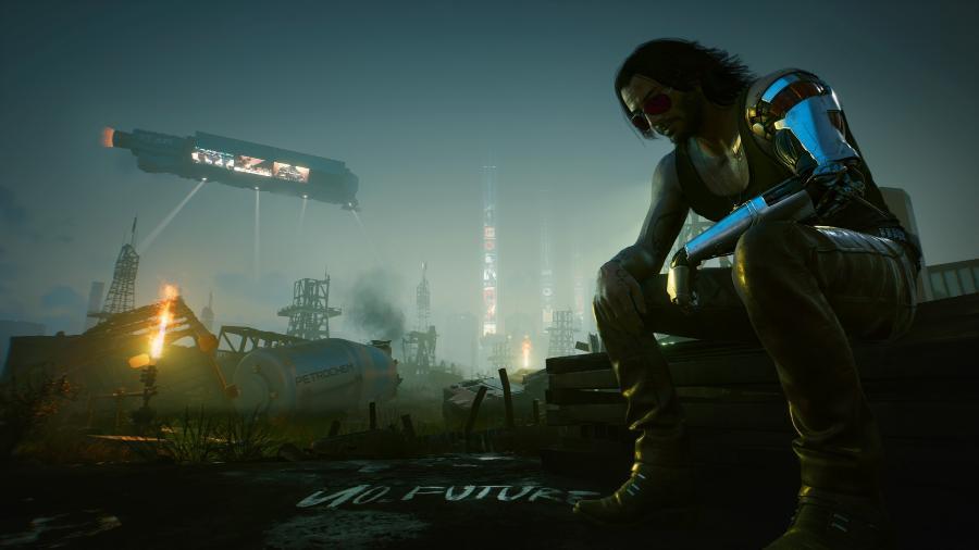 Nem Keanu Reeves salvou Cyberpunk 2077 das mentiras - Divulgação/CD Projekt Red