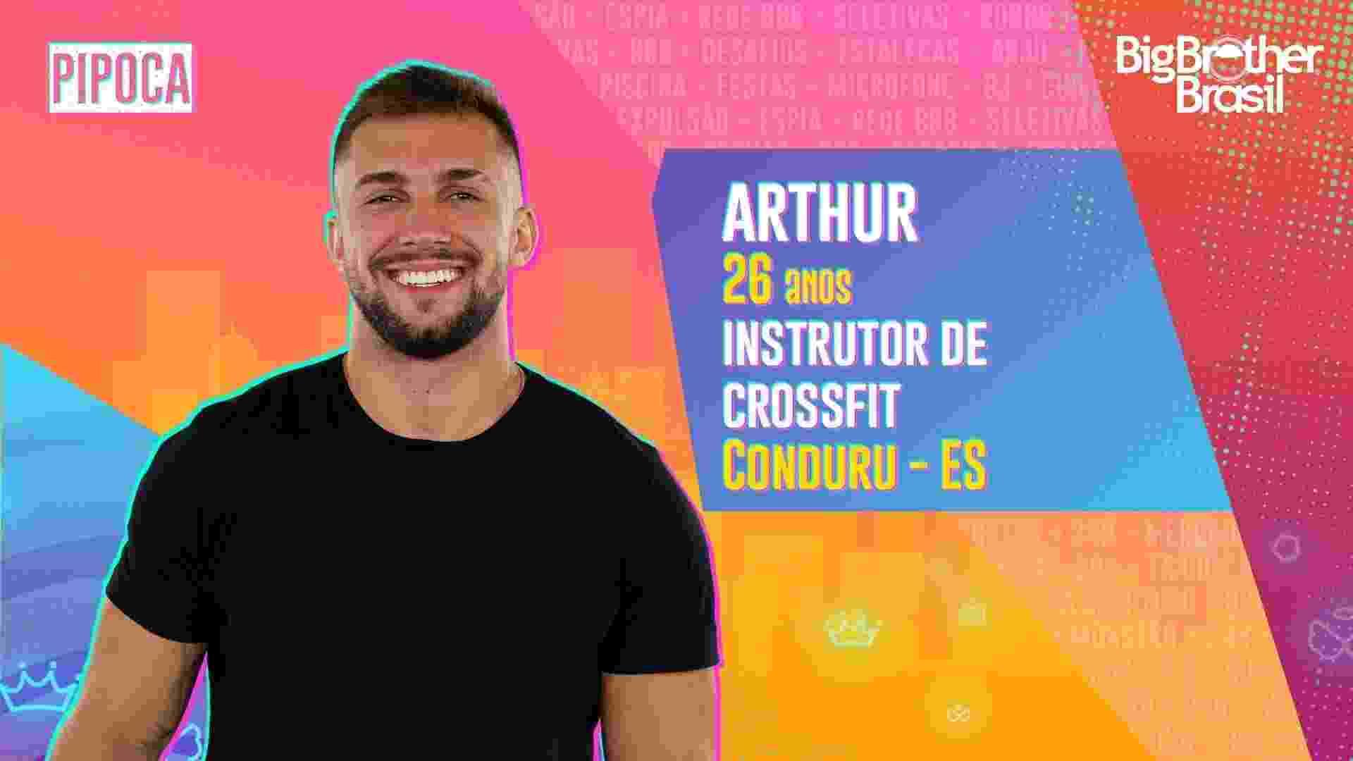 Arthur, do BBB 21 - Divulgação