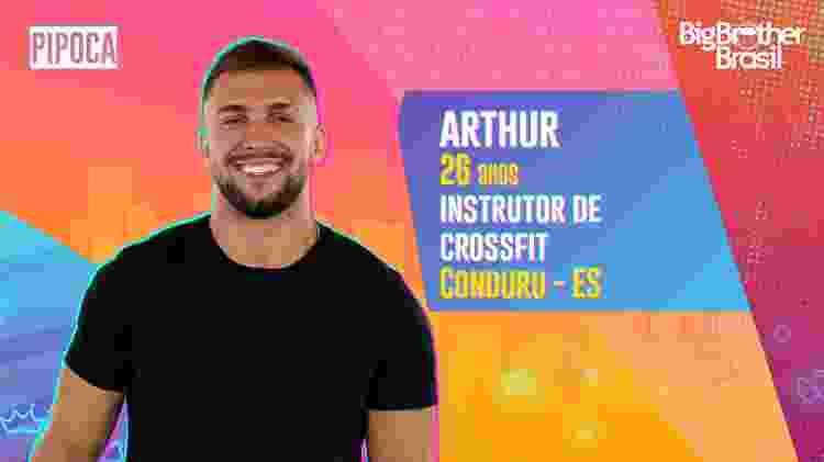Arthur, do BBB 21 - Divulgação - Divulgação