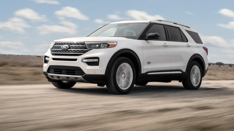 Ford Explorer King Ranch 2021  - Divulgação