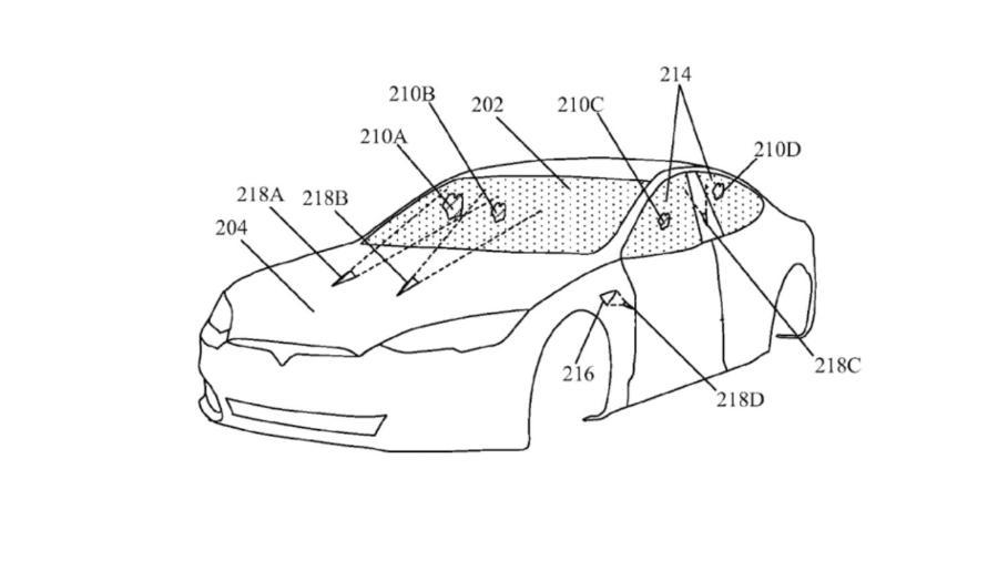 Tesla cria limpador de para-brisa com laser - Reprodução
