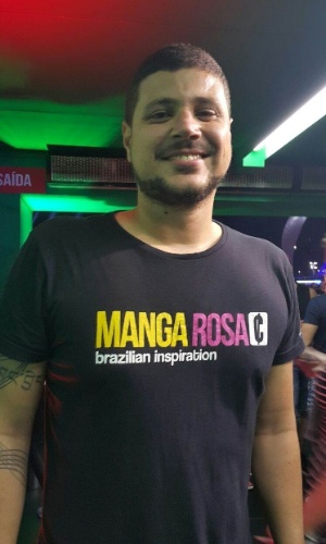 "25.set.2015 - Raul Lemos, segundo colocado no ""MasterChef"", vai ao quinto dia de shows do Rock in Rio e relembra final do programa: ""Chorei a madrugada toda"""