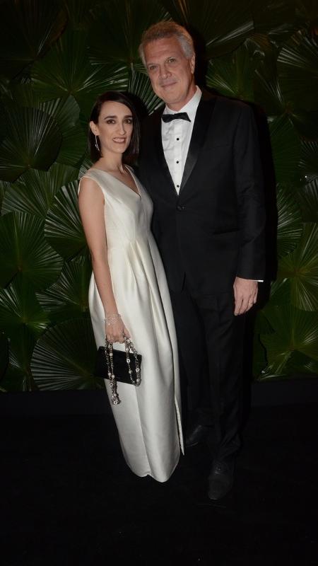 Maria Prata e Pedro Bial no Brazil Foundation  - AgNews