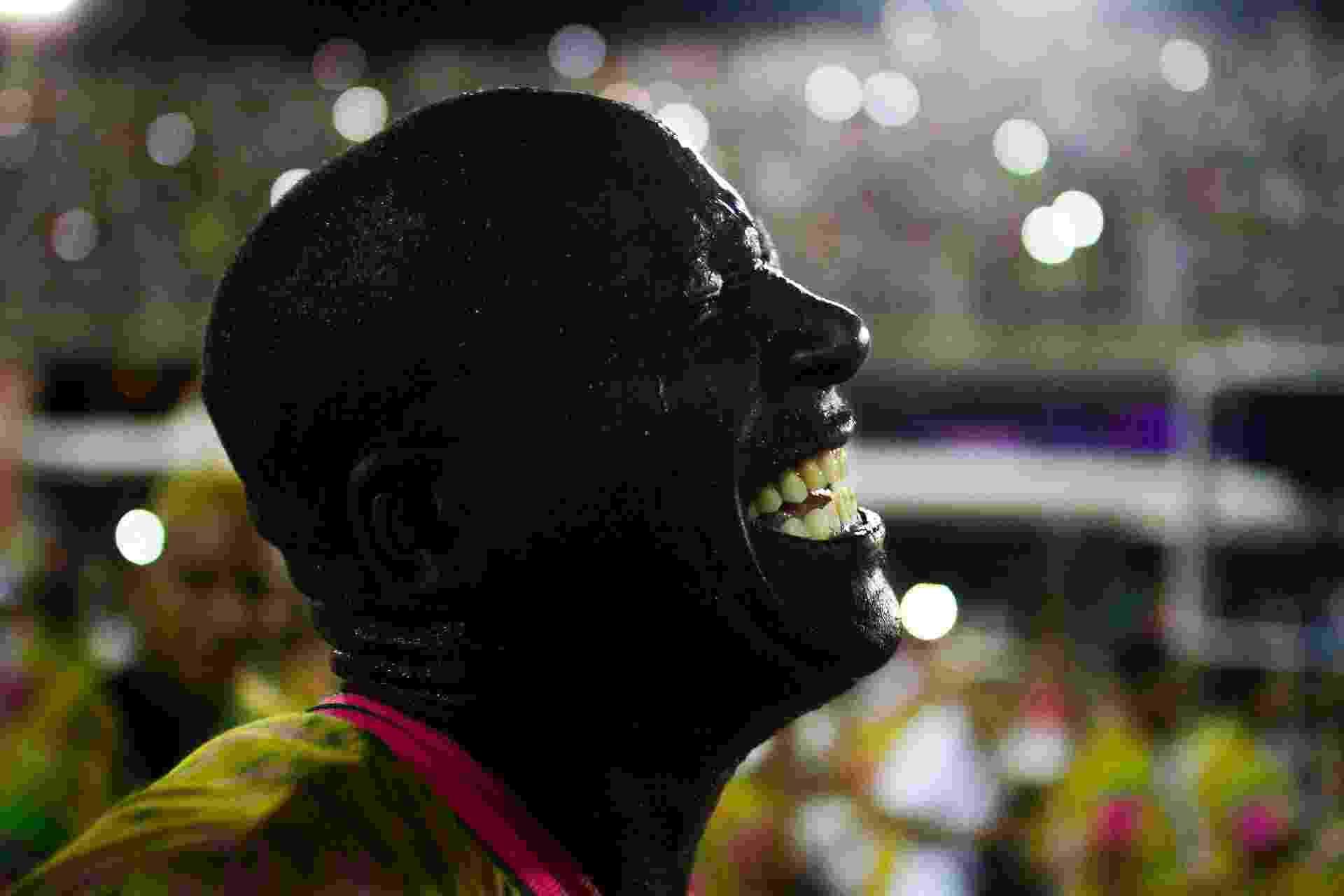 Mangueira se apresenta em ensaio técnico na Marques de Sapucaí, no Rio - LUCIANO BELFORD/FRAMEPHOTO/ESTADÃO CONTEÚDO