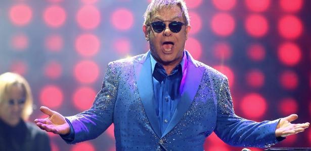 O cantor e compositor Elton John