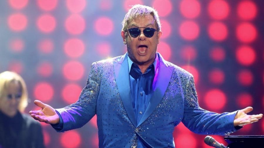 O cantor e compositor Elton John - Fernando Maia/UOL