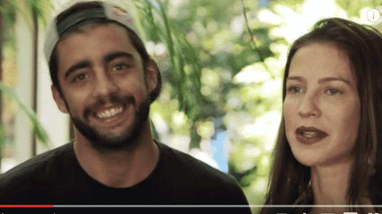 Pedro Scooby e Luana Piovani gravam vídeo para o canal do YouTube da atriz - Reprodução / YouTube - Reprodução / YouTube