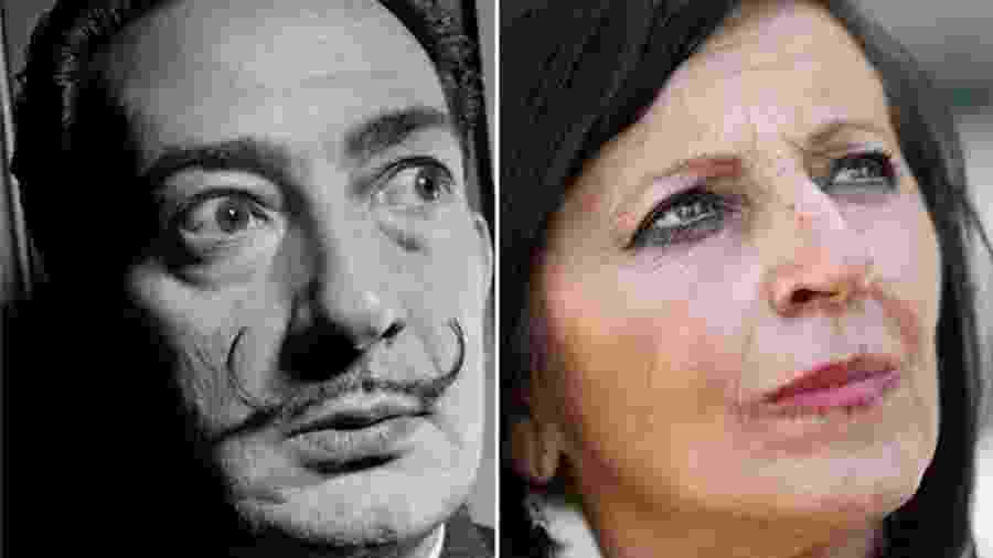 Maria Pilar Abel Martínez diz ser filha de Salvador Dalí - AFP/EPA