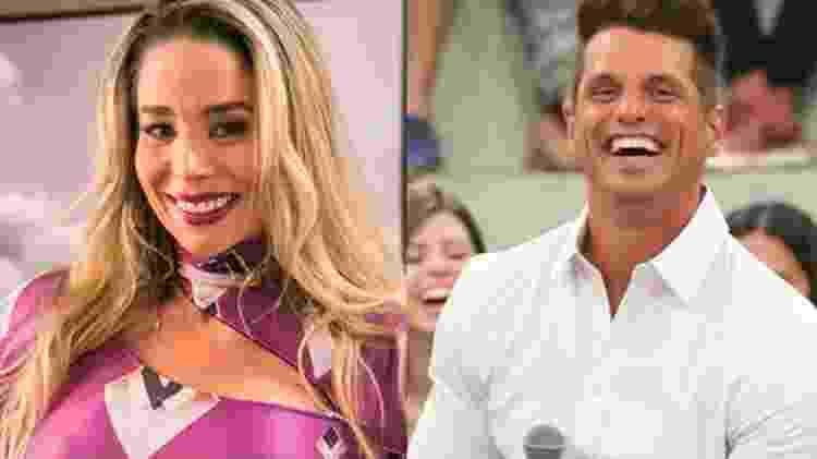 Danielle Winits e Fernando Fernandes namoraram em 2002 - Divulgação/TV Globo - Divulgação/TV Globo
