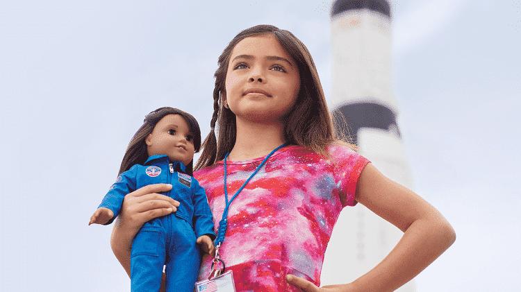 A boneca-astronauta Luciana Vega - Divulgação/American Doll - Divulgação/American Doll