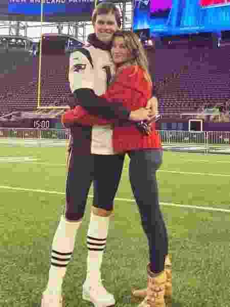 Gisele Bündchen apoia o marido, Tom Brady, na véspera do Super Bowl - Reprodução/Instagram/gisele