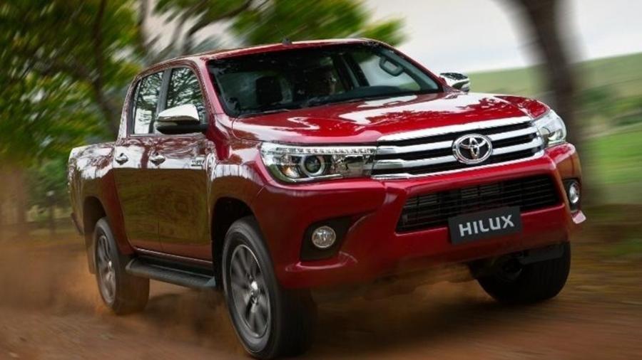 Toyota Hilux 2016 é uma das afetadas: airbags podem não abrir quando necessário - Divulgação