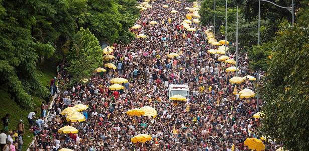 12 milhões de pessoas curtiram o Carnaval de rua em SP em 2018 - Bruno Rocha/Estadão Conteúdo