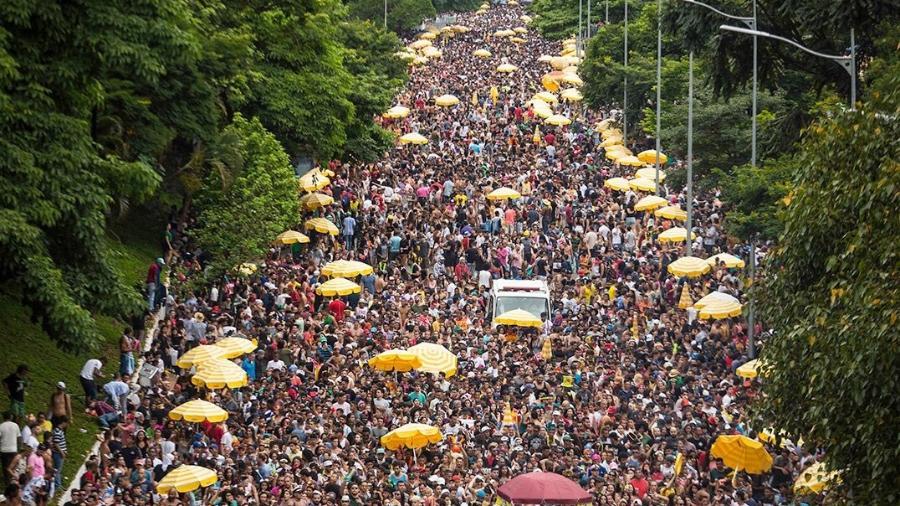 Objetivo é fomentar atividades dos blocos e figuras que trabalham no carnaval de rua paulistano - Bruno Rocha/Estadão Conteúdo