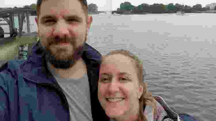 Caio e a esposa - Arquivo Pessoal - Arquivo Pessoal