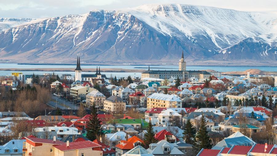 Além de segura, a Islândia é uma nação com lindas paisagens - Getty Images/iStockphoto