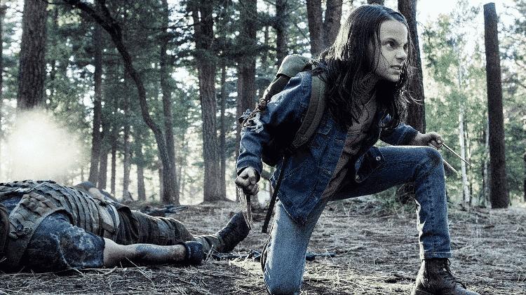 """X-23 em cena de """"Logan"""" - Reprodução - Reprodução"""