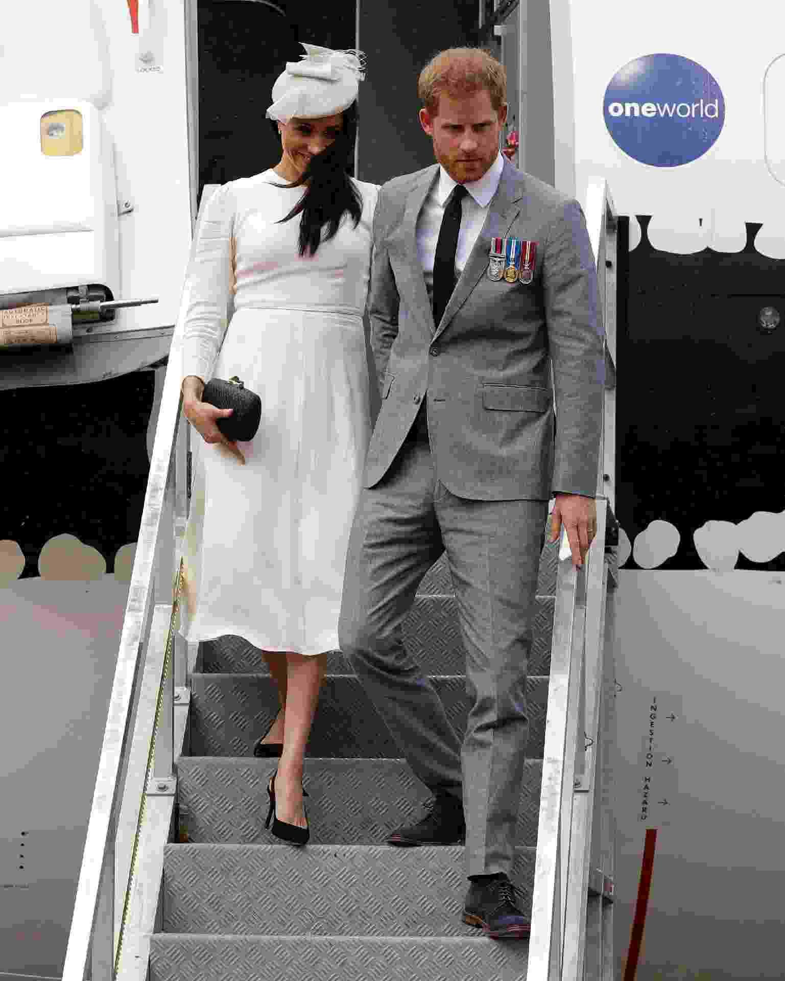 Meghan Markle e o príncipe Harry viajam à Fiji, na Oceania - Getty Images