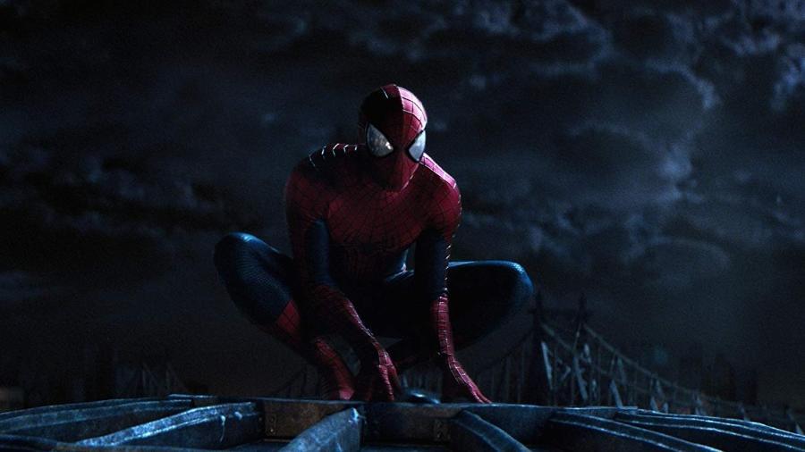 """Cena do filme """"O Espetacular Homem-Aranha 2 - A Ameaça de Electro"""" - Reprodução"""