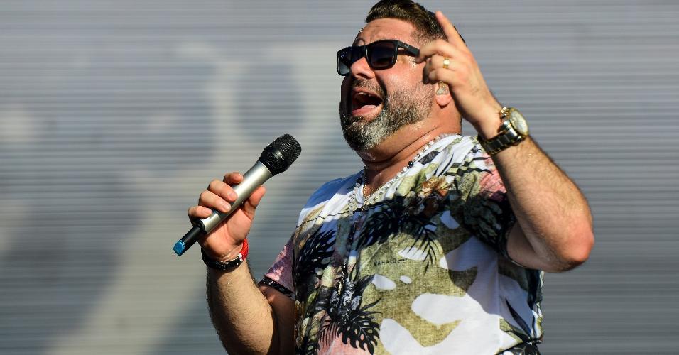 O cantor baiano Danniel Vieira no Festival Virada Salvador