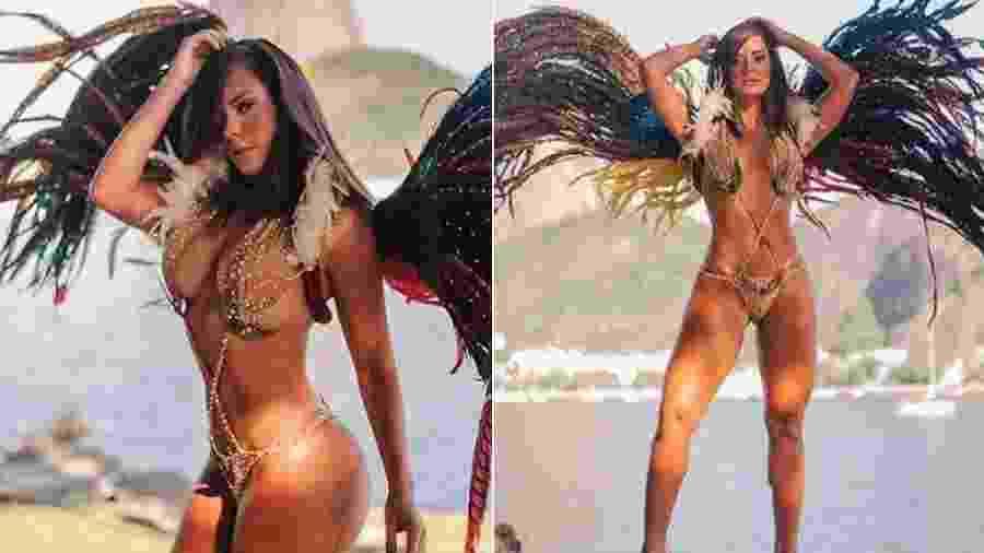 Denise Dias é a nova madrinha de bateria da Paraíso do Tuiuti - Thais Monteiro/Divulgação