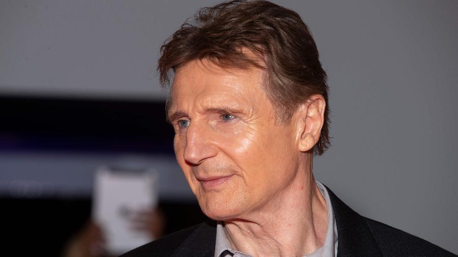 O ator Liam Neeson - Geoff Robins / AFP