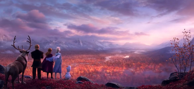"""Cena de """"Frozen 2"""" - Divulgação"""