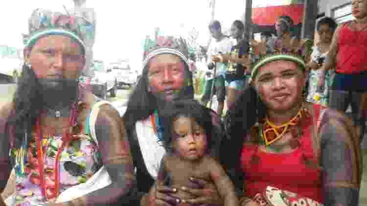 Valeria, Cristiane e Paula, membros do Guerreiras da Floresta - Divulgação - Divulgação