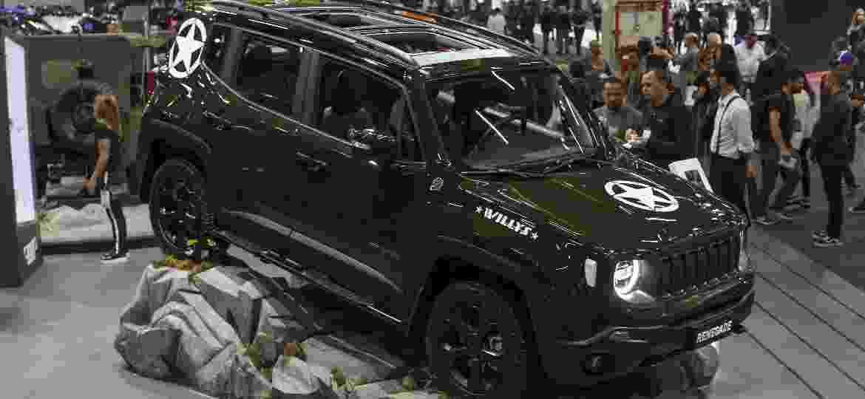 """Jeep Renegade Willys foi """"showcar"""" da marca no último Salão do Automóvel de São Paulo - Rubens Cavallari/Folhapress"""