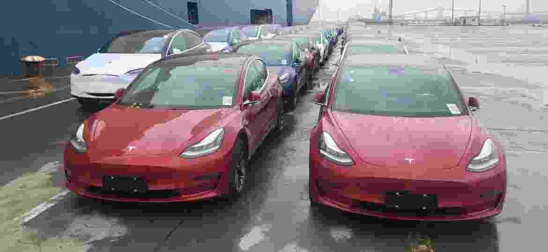 Fabricante norte-americana de veículos elétricos quer faturar agora com o seguro dos seus carros, dotados de condução semiautônoma -  Zhao Yun/VCG via Getty Images