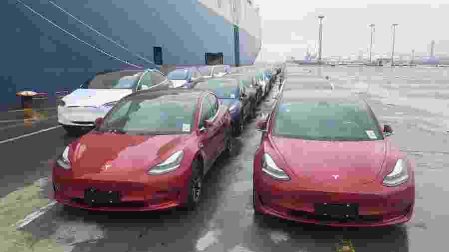 Tesla Model 3  -  Zhao Yun/VCG via Getty Images