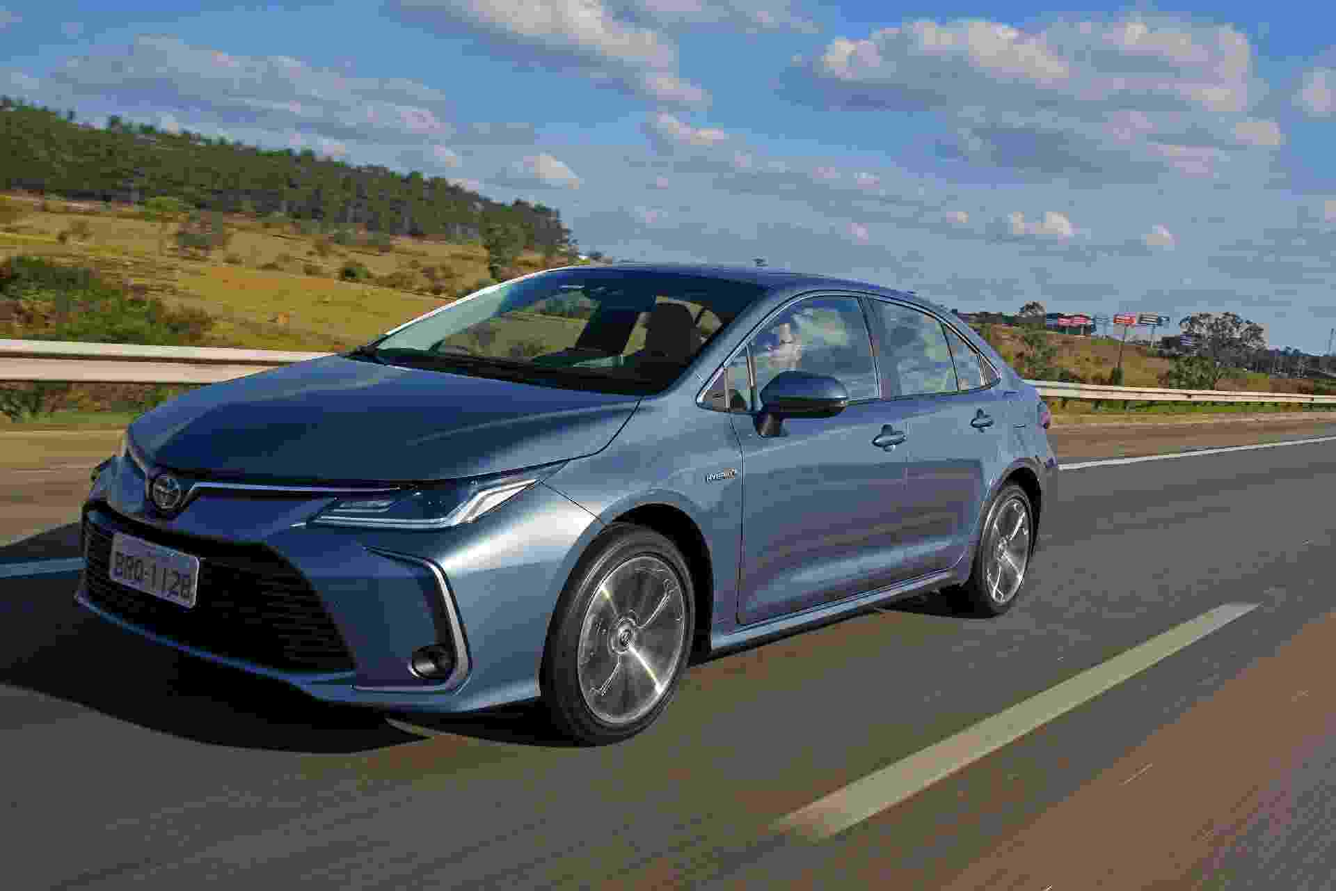 Toyota Corolla Hybrid - Murilo Góes/UOL