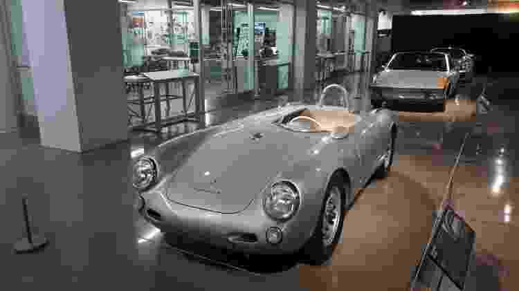 James Dean dirigia um Porsche 550 Spyder como esse quando faleceu - Vitor Matsubara/UOL