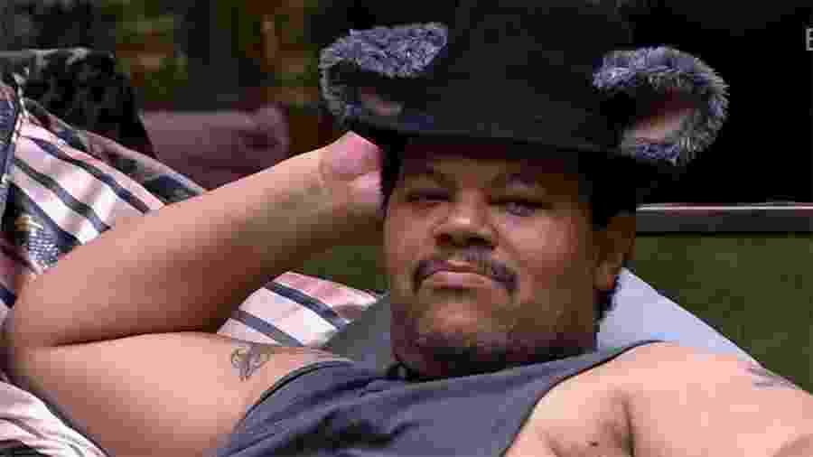 """""""BBB 20"""": Babu Santana fala sobre gordofobia e como ele se sente excluído - Reprodução/Globo"""
