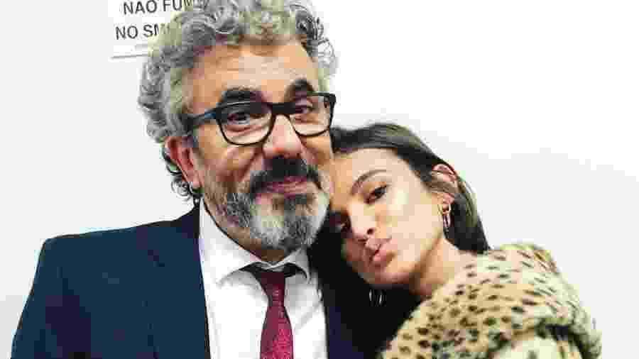 Manu Gavassi com o pai, o radialista e jornalista Zé Luiz - Reprodução/Instagram