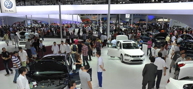 Dona do maior espaço do Salão, VW pode não participar da feira - Divulgação