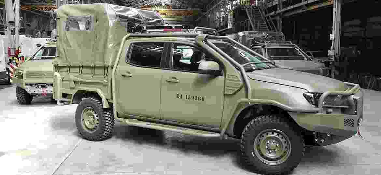 Picapes foram transformadas por concessionária da Ford em Buenos Aires - Reprodução/Argentina Autoblog