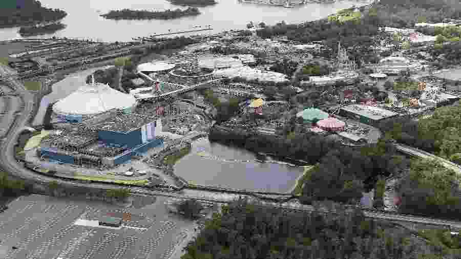Parque da Disney fechado em Orlando - Alex Menendez/Getty Images