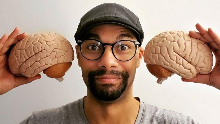 Psicólogo mineiro explica reações do cérebro de forma divertida - Reprodução/Instagram