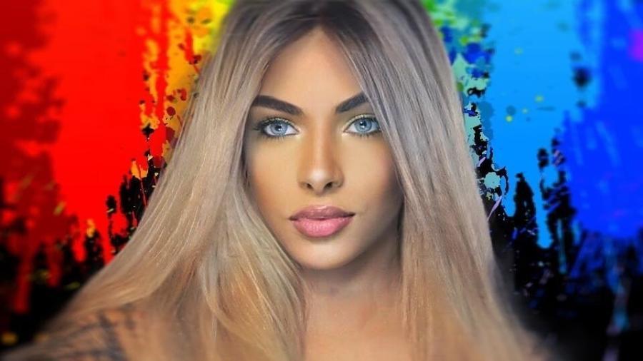 Drag Sophia Barclay - Arquivo pessoal