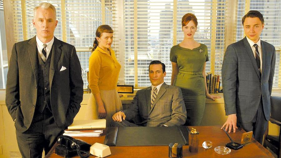 """Série """"Mad Men"""" mostrou disparidade entre homens e mulheres no mercado de trabalho - Divulgação"""