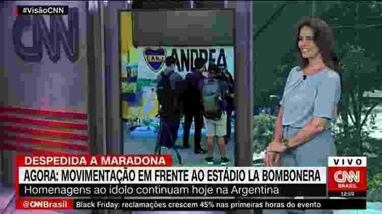 Há um mês, Carla Vilhena apresenta o Visão CNN, na versão brasileira da emissora norte-americana - Divulgação - Divulgação