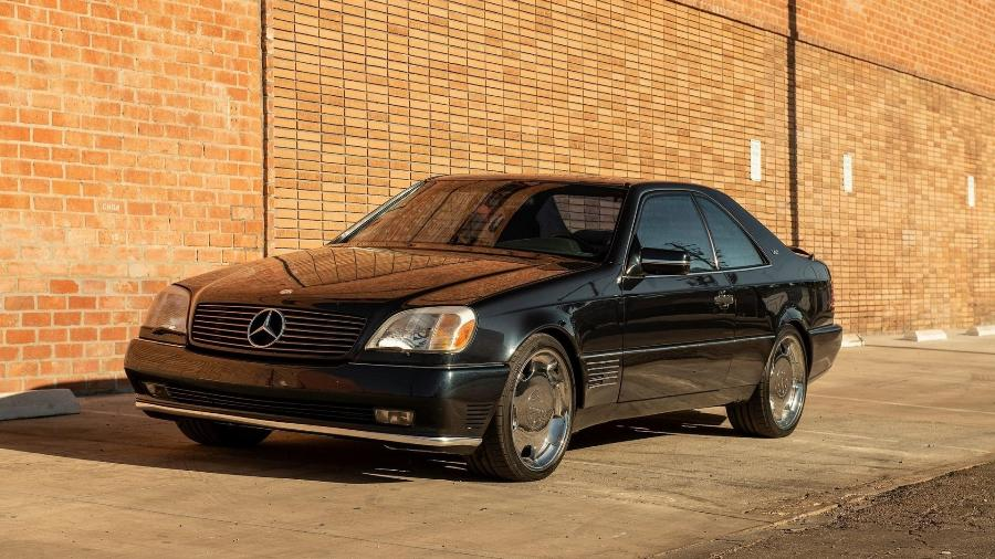 Mercedes-Benz S600 1996 que foi de Michael Jordan - Divulgação