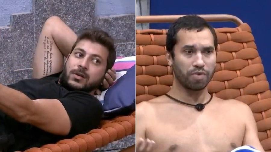 BBB 21: Caio e Gilberto batem boca por causa de Juliette - Reprodução/Globoplay