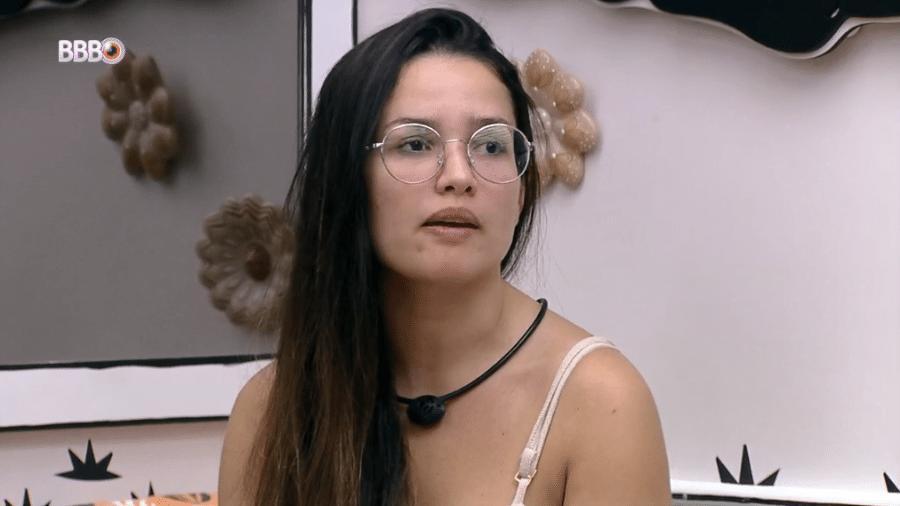 BBB 21: Juliette desabafa com João sobre nova briga com Pocah - Reprodução/Globoplay