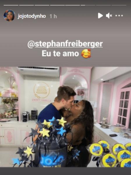 Jojo Toddynho beijou o marido de seu empresário - Reprodução/Instagram